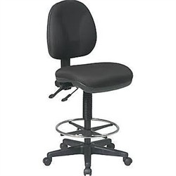 office star dc940 231 deluxe ergonomic drafting chair 143 90